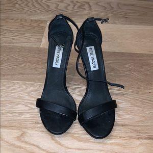 Steve Madden skinny strap ankle heels